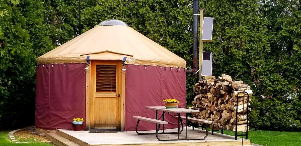 Glamping Yurt Ohio