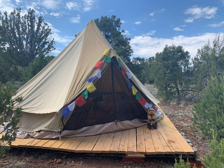 Grand Canyon Glamping Eco-Yurt