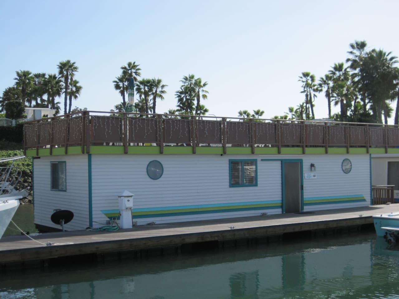 House boat San Diego