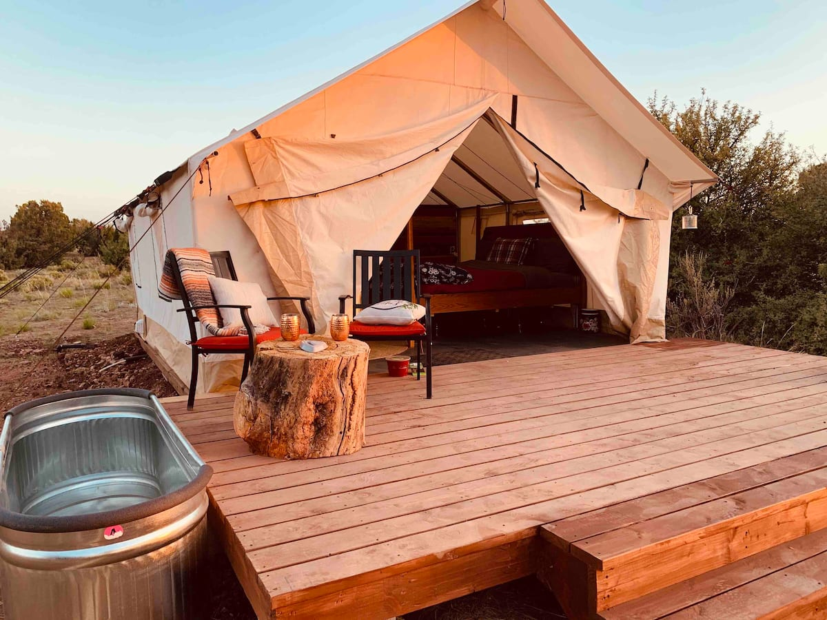 Invigorate -'Red Beauty' - Glamping Grand Canyon