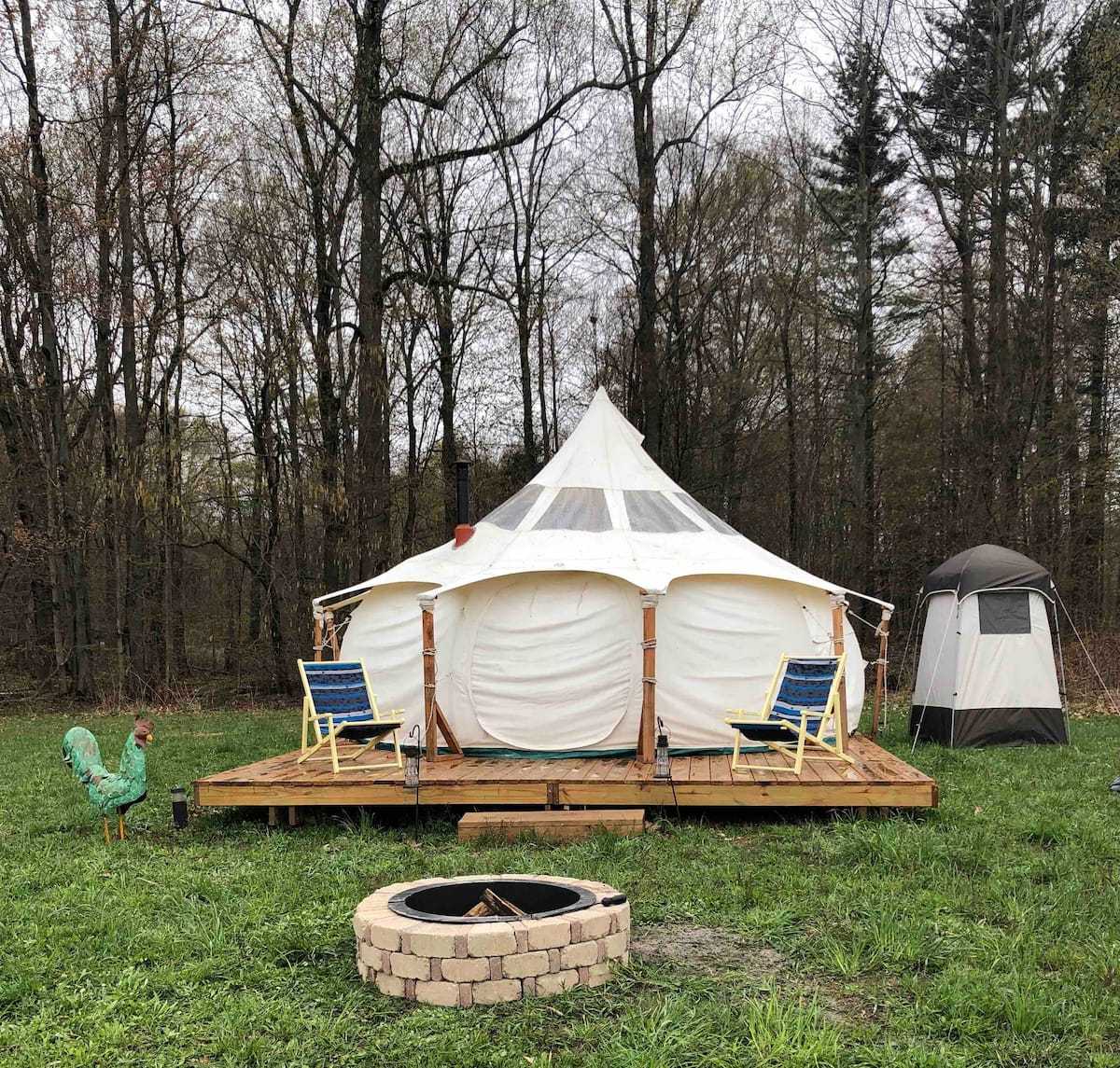 Lulabelle Glamor Tent in Michigan