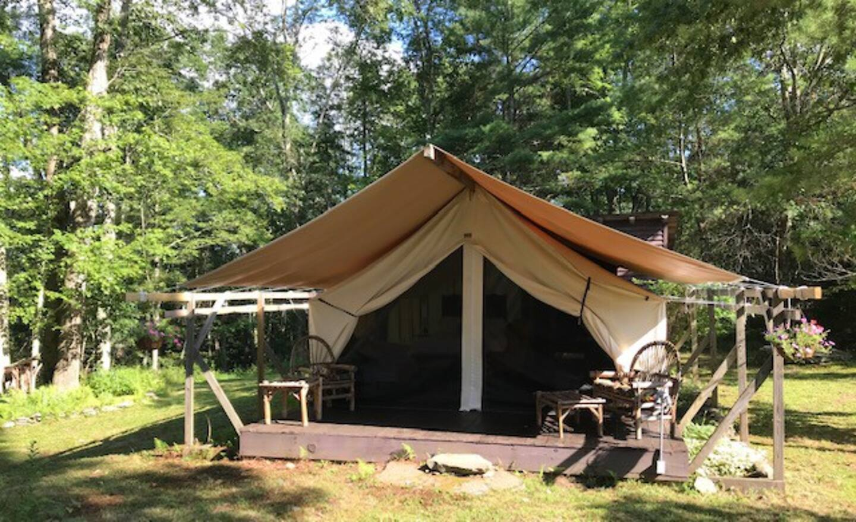 New York Luxury Camping