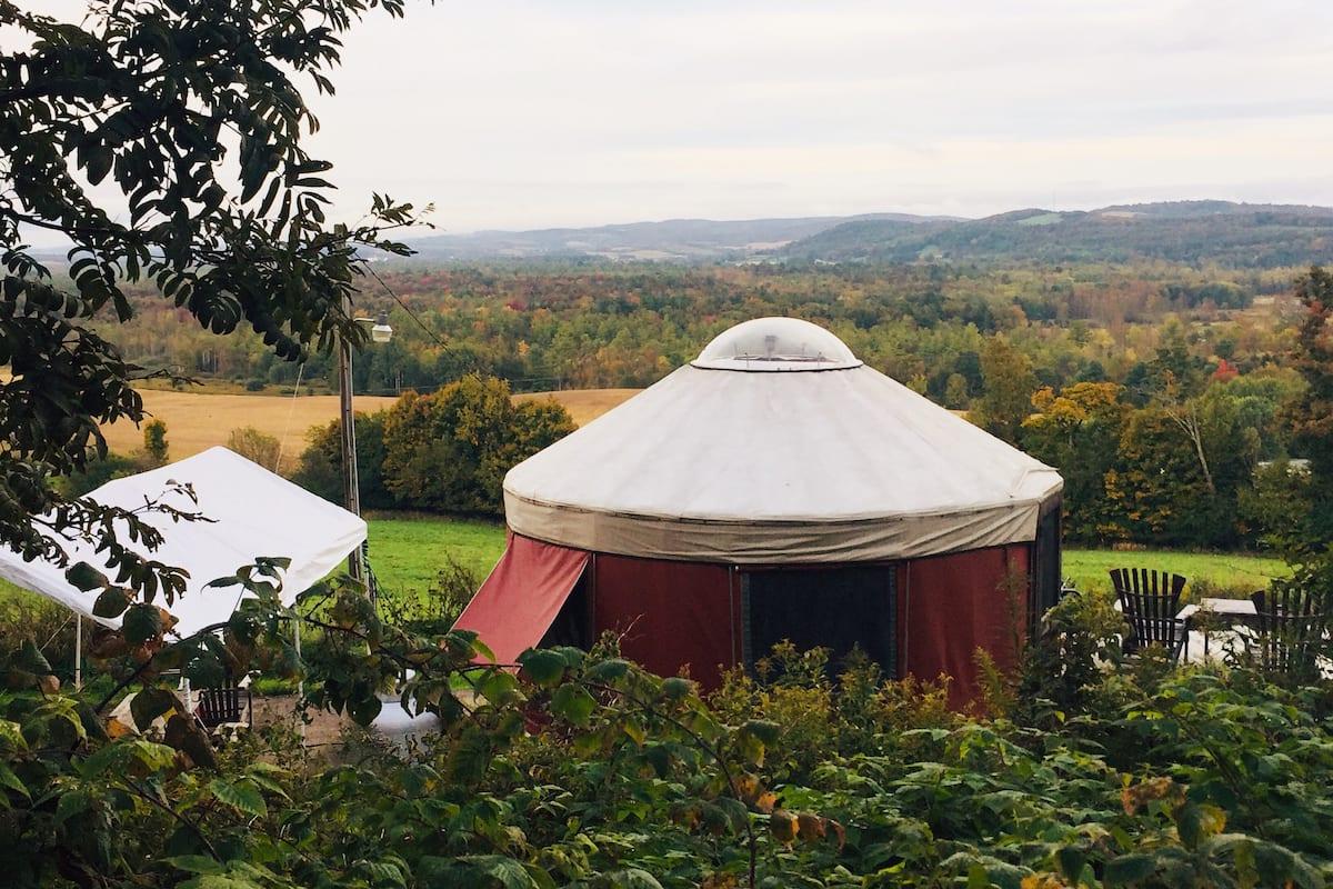 New York Yurt Glamping Airbnb