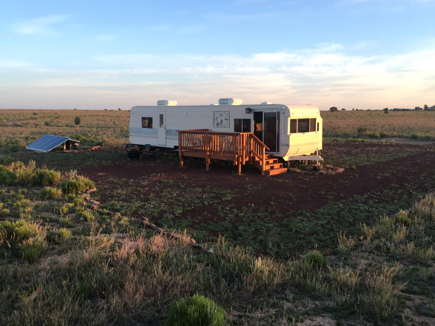Off-Grid Solar Grand Canyon Glamping Experience