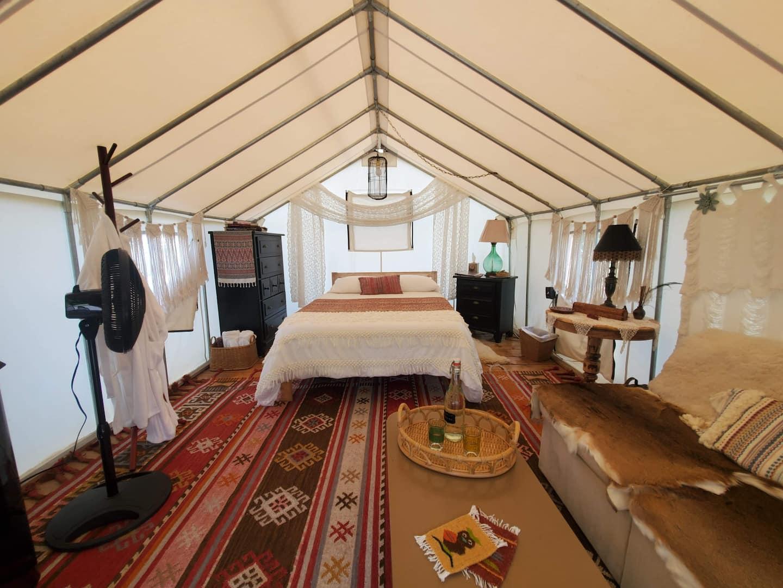 Scottland Yard Wisteria - Glamping Tent