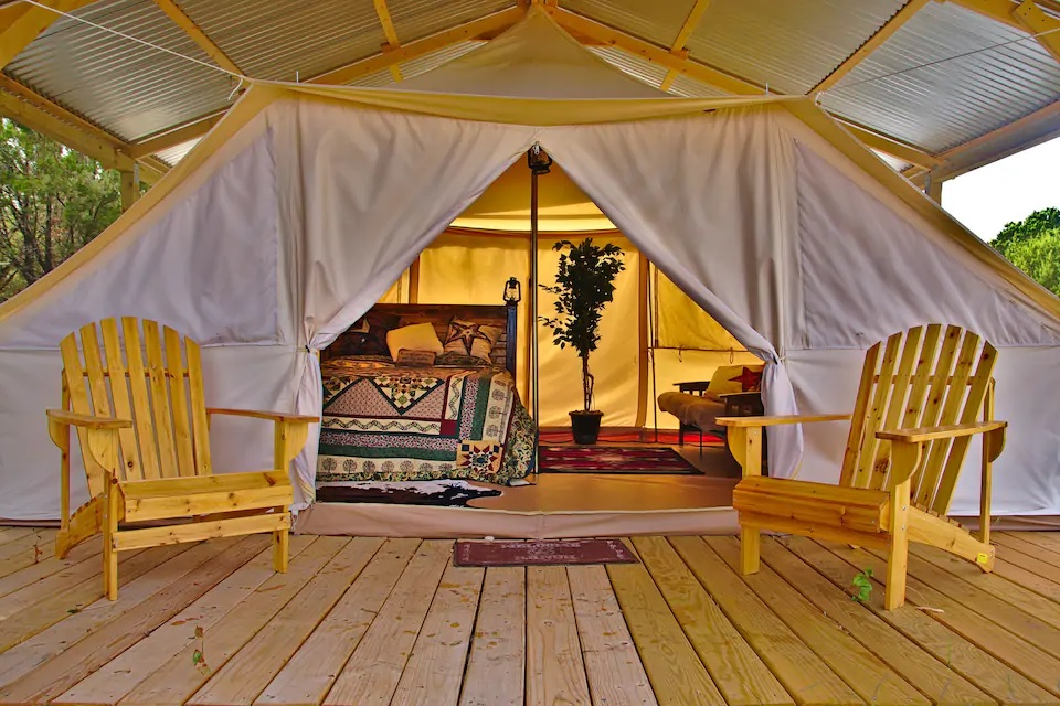 Solo Glamping Texas