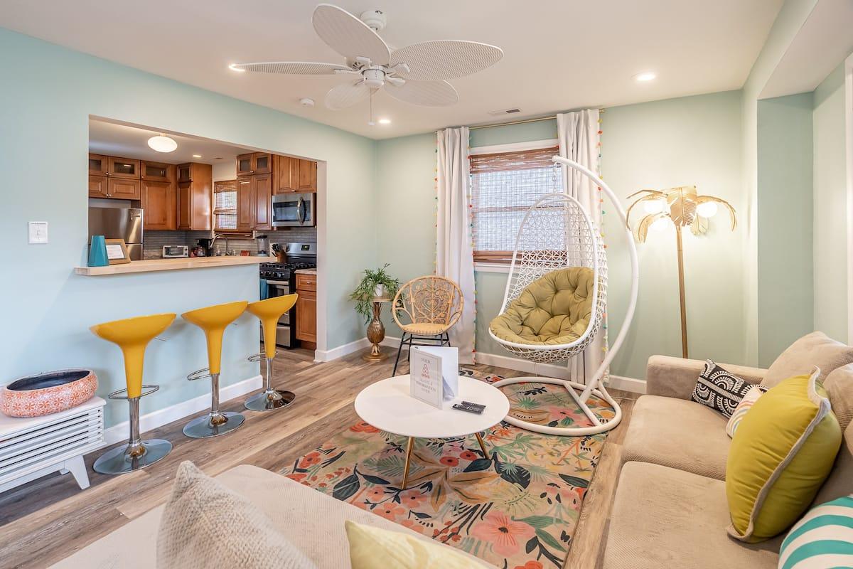 Stylish Airbnb Atlantic City New Jersey