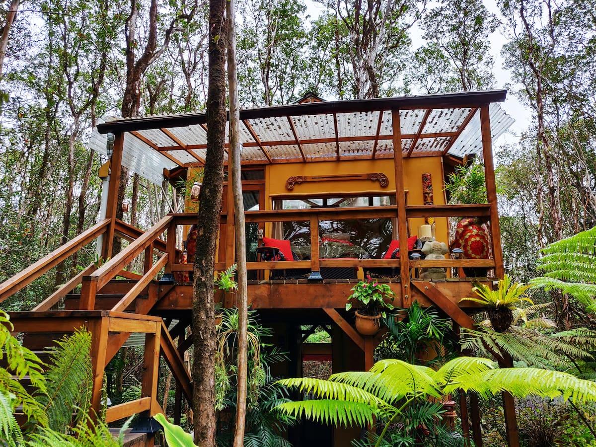 Treehouse Airbnb Hawaii