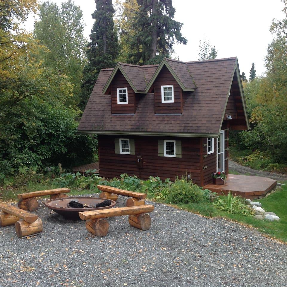 Unique Cabin Anchorage Airbnb Vacation Rental