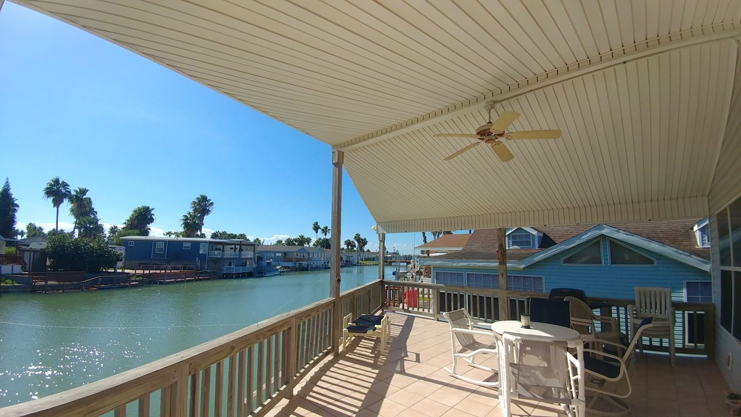 Waterfront Home Airbnb South Padre Island