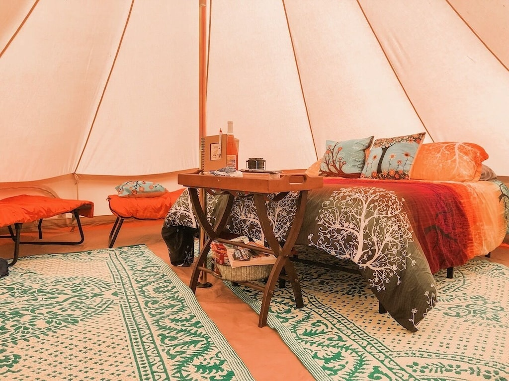 Yurt Glamping Michigan