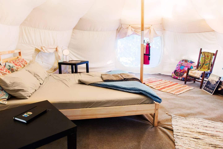 best yurt glamping in ohio