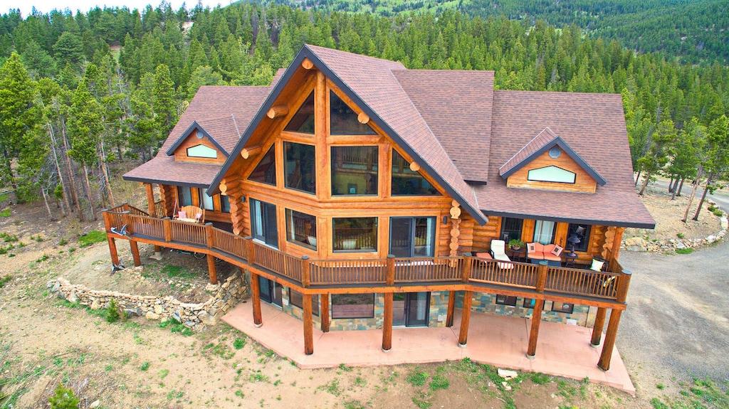 denver golden colorado luxury log mountain home cabin