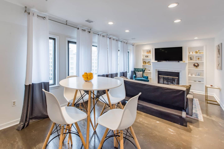 luxury airbnb washington dc