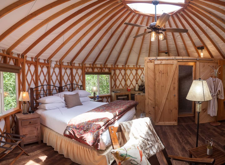 yurt glamping in ohio airbnb