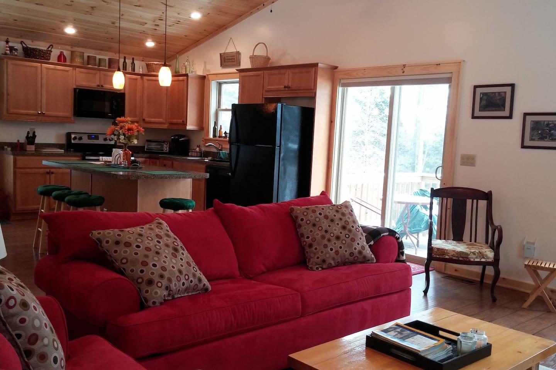 Adirondack Dream Apartment - Airbnb-Lake-George-NY
