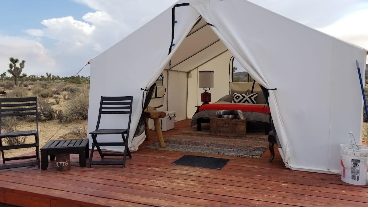 Joshua Tree Glamping Tent