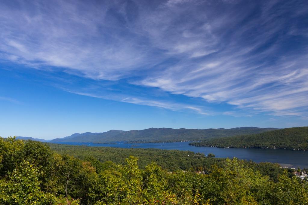 view of Lake George NY