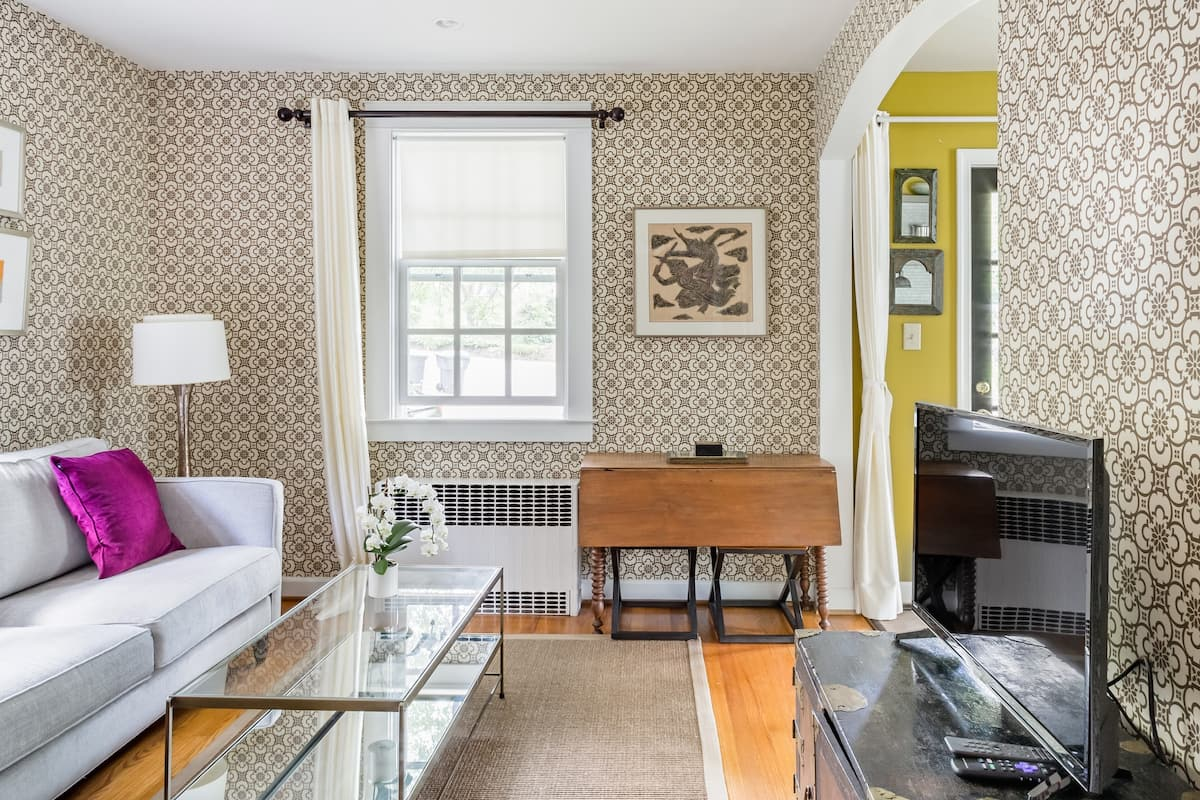 Walk to Galleries From an Artful House Near the Old Downtown Charlottesville Airbnb VA
