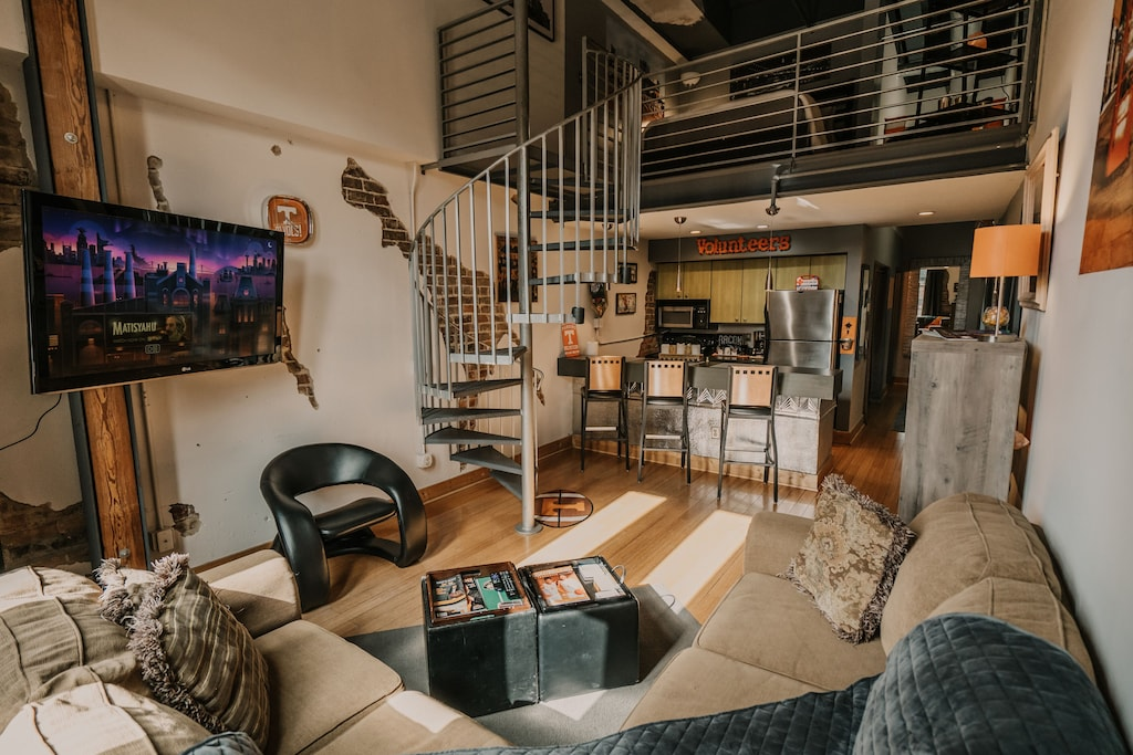 knoxville tennessee downtown loft vacation rental