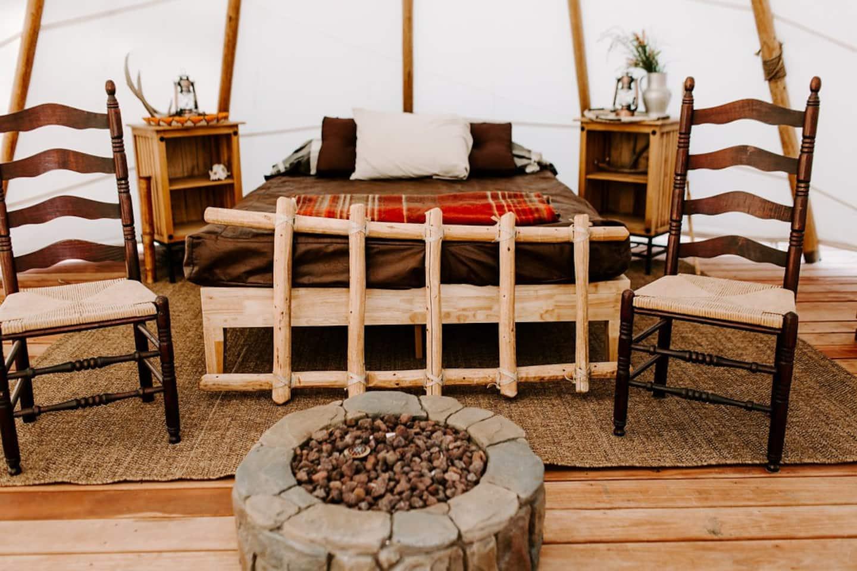 Best Glamping Yurt Colorado