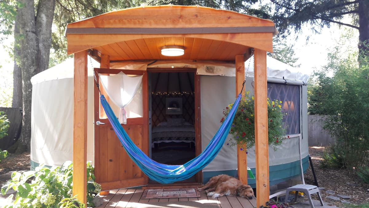 Best Portland Glamping Airbnb