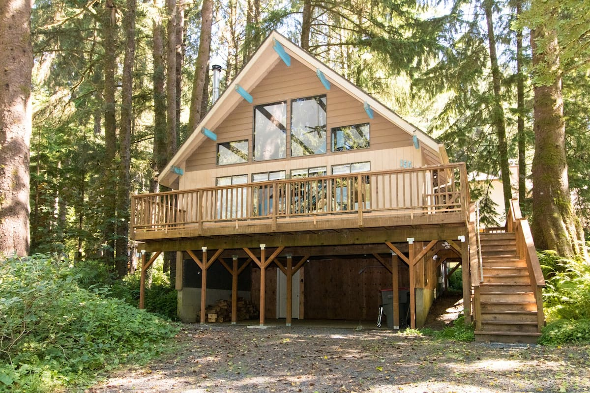 Cabin in the Woods Oregon Coast Airbnb