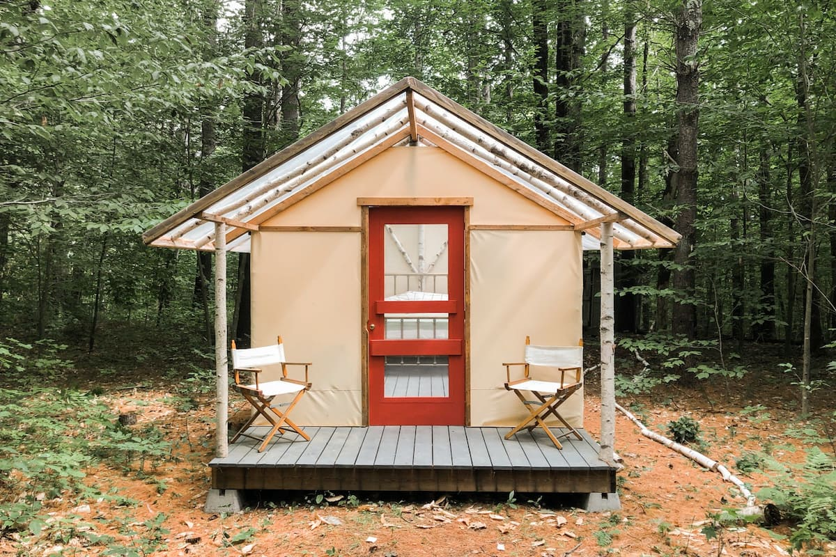 Cheap glamping new england
