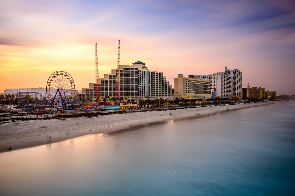 Daytona Beach Florida Sunset
