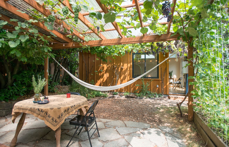 Eco Friendly Cabin Airbnb in Portland Oregon