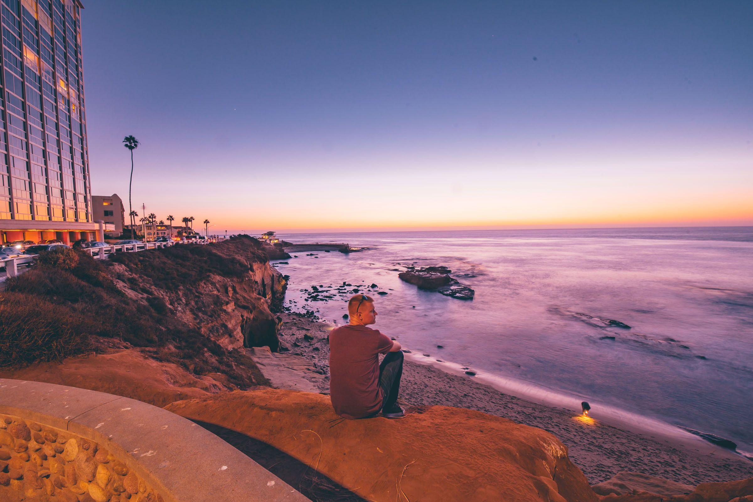 La Jolla California Sunset