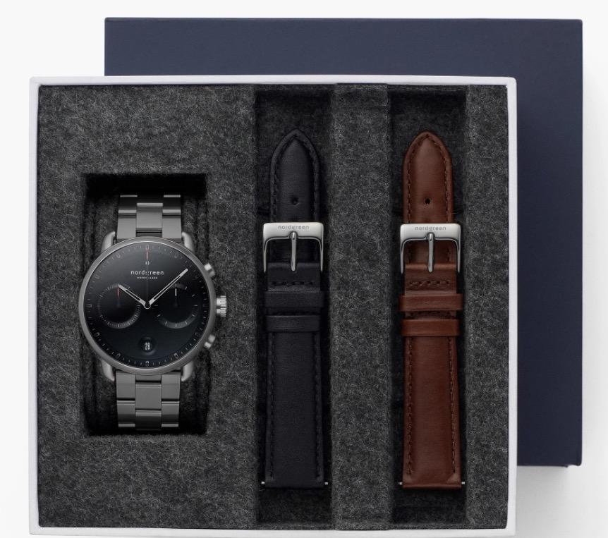 Nordgreen Pioneer Watch Gift Box For Men