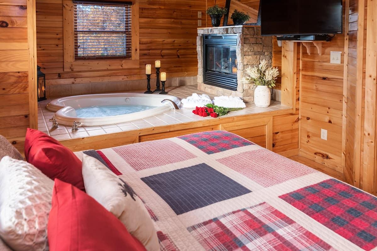 Romantic Smoky Mountain Cabin Airbnb