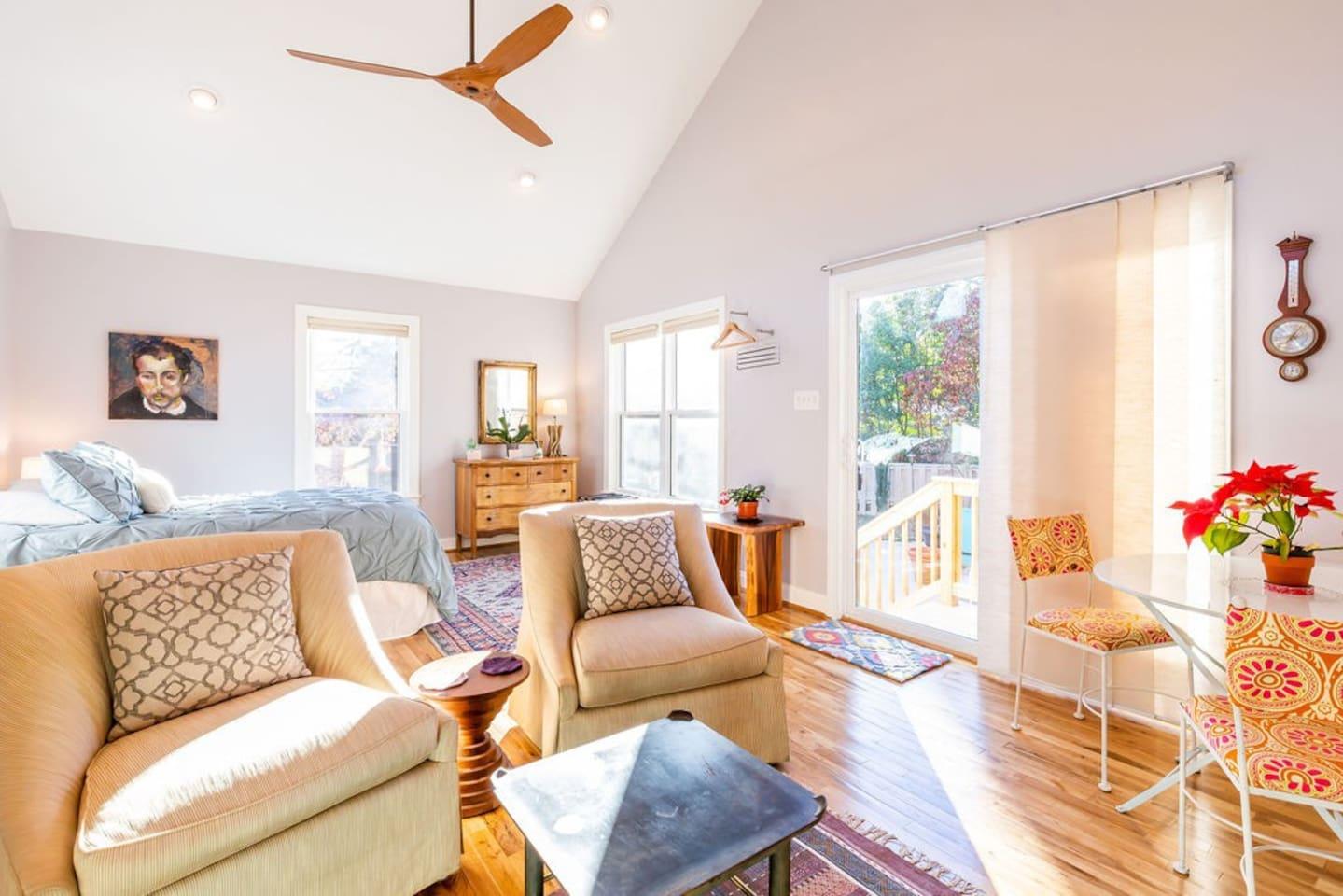 Studio Airbnb Richmond VA