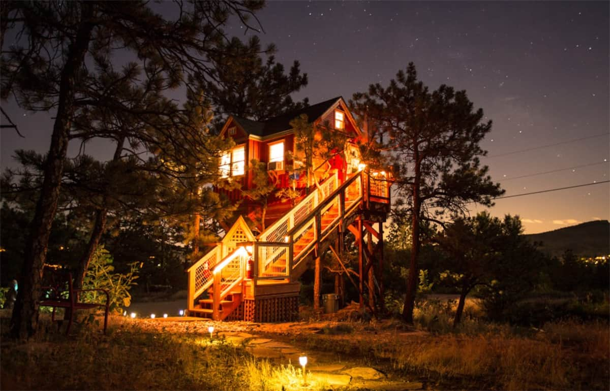 Treehouse Airbnb ColoradoTreehouse Airbnb Colorado