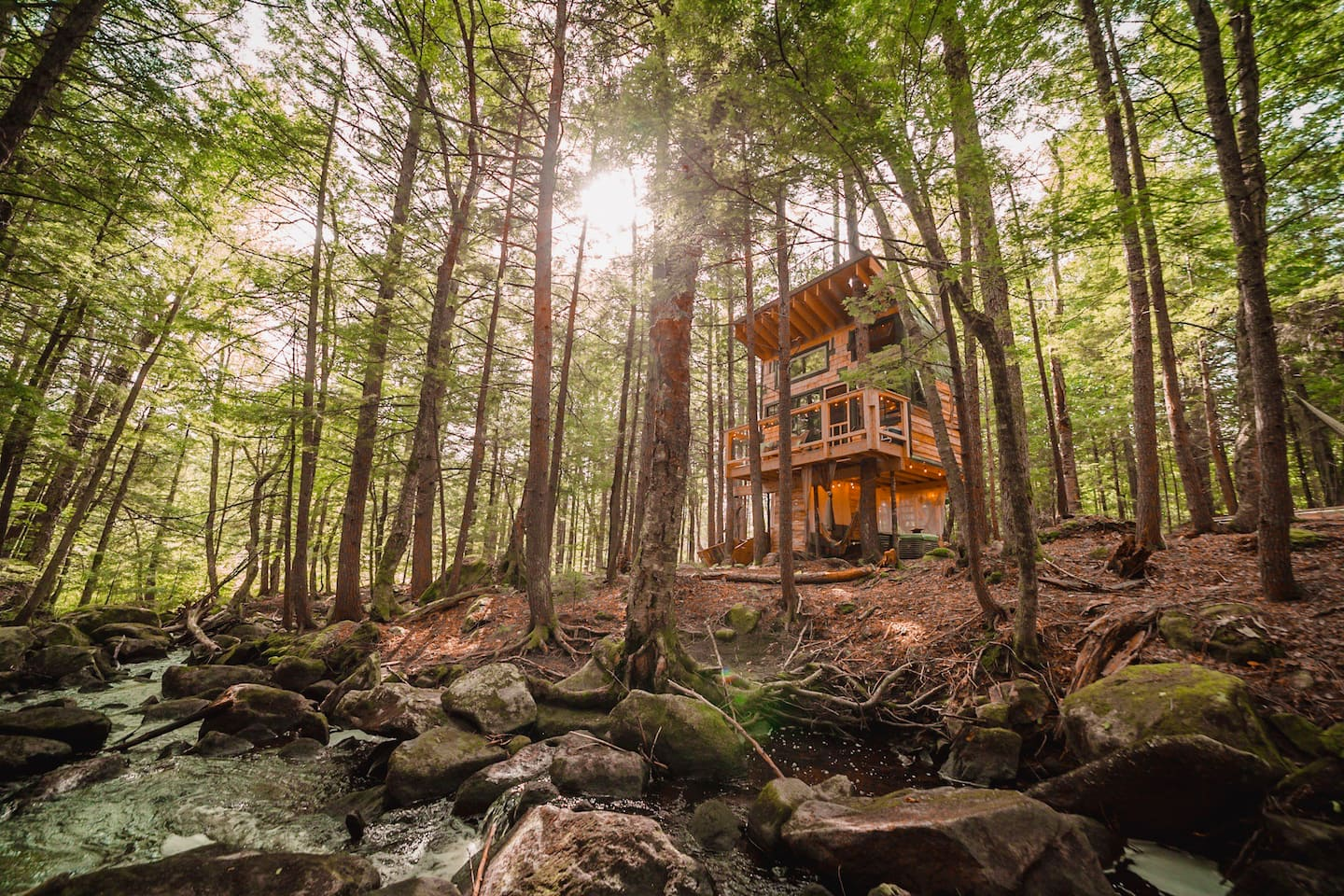 Treehouse Glamping in New England
