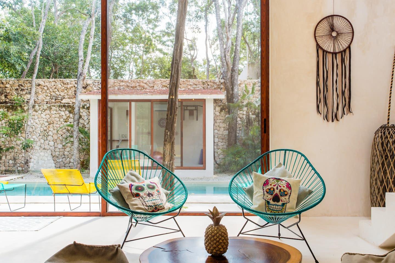 Villa Guacamaya- Airbnb-Tulum