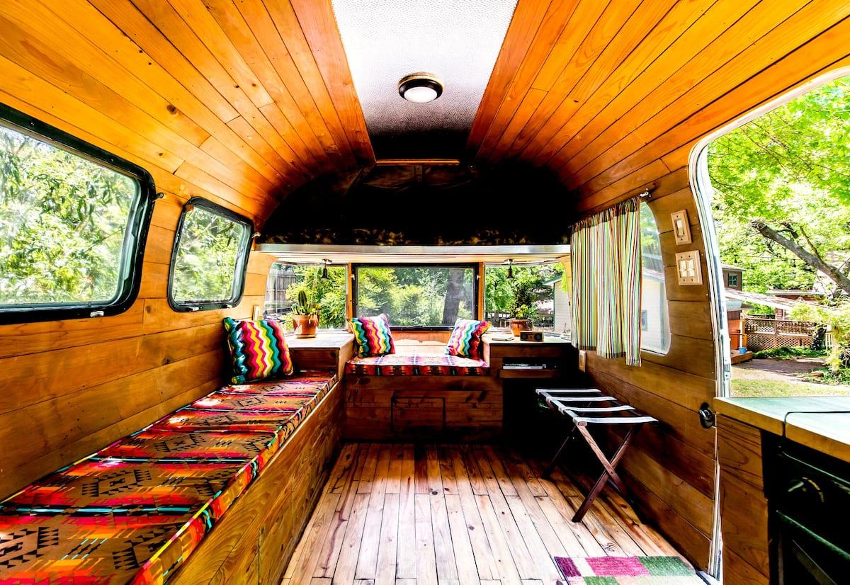 Vintage Airstream Unique Airbnb in Dallas