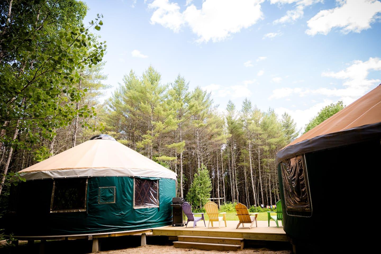 Yurt Glamping New England