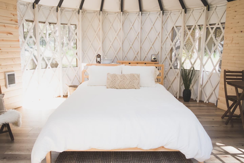 Yurt Glamping in Southern California