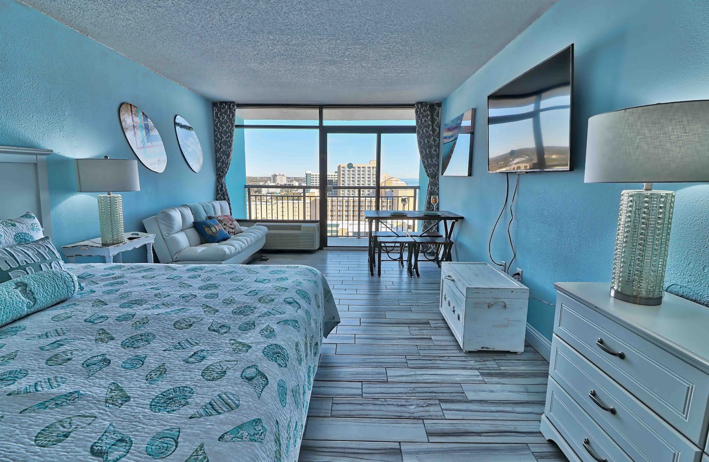 airbnb in myrtle beach with view