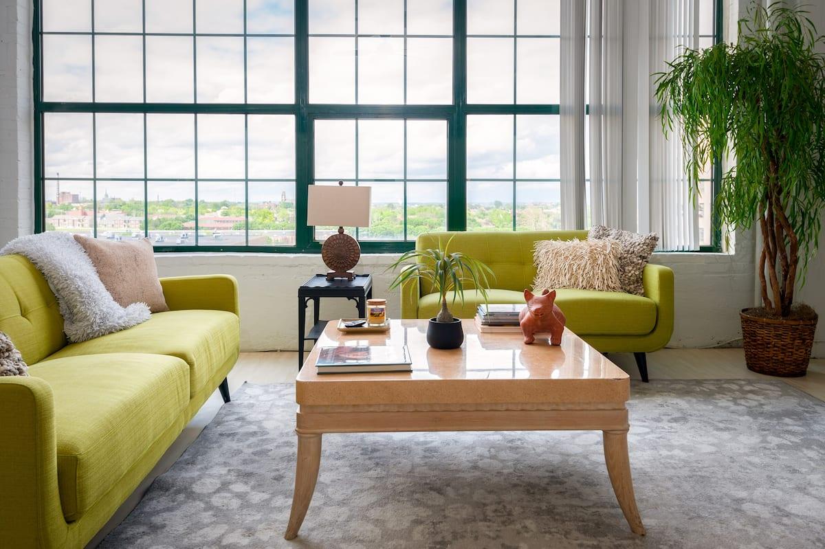 airbnb st louis downtown loft