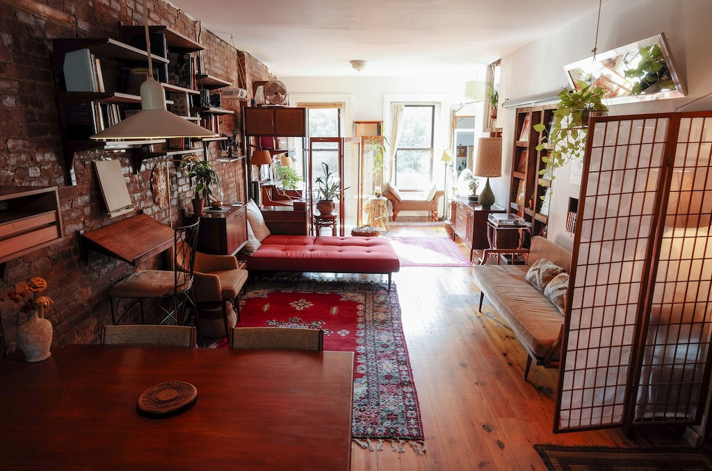brooklyn loft studio vacation rental home theater