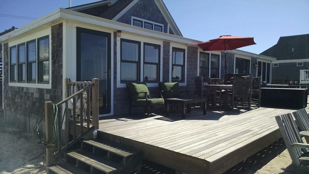 cape cod beachfront condo private deck