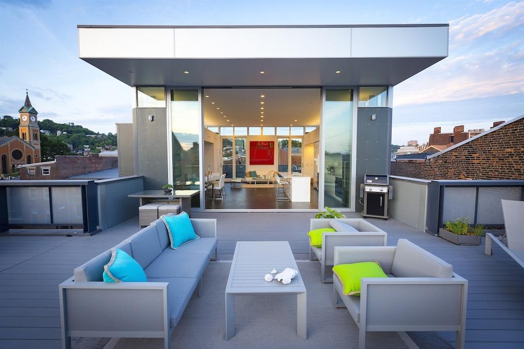 cincinnatti ohio on the rhine luxury penthouse
