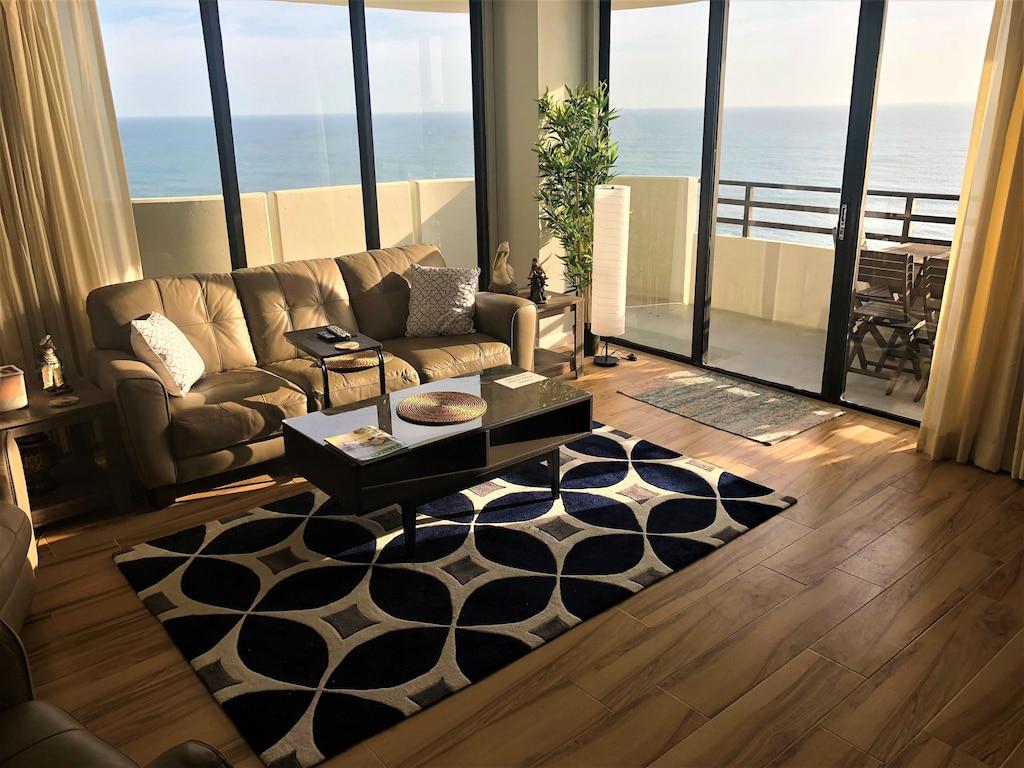 daytona beach luxury sunset ocean front condo