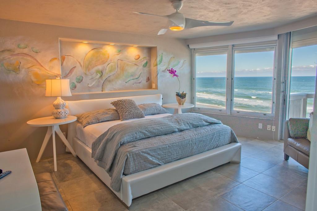 daytona beach ocean front private beach condo luxury rental