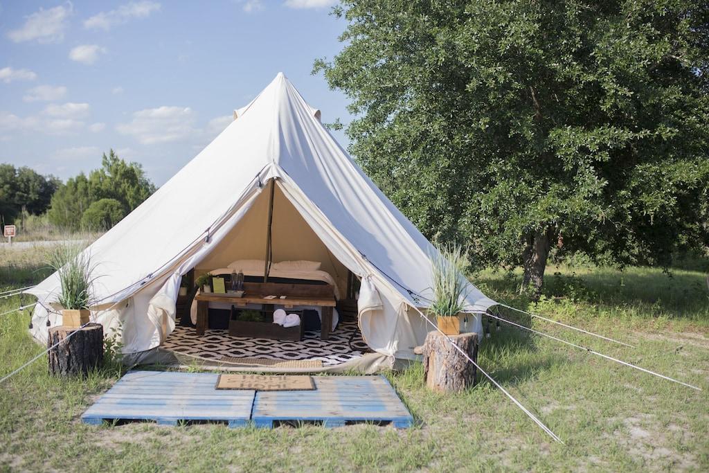 florida glamping yurt lake louisa