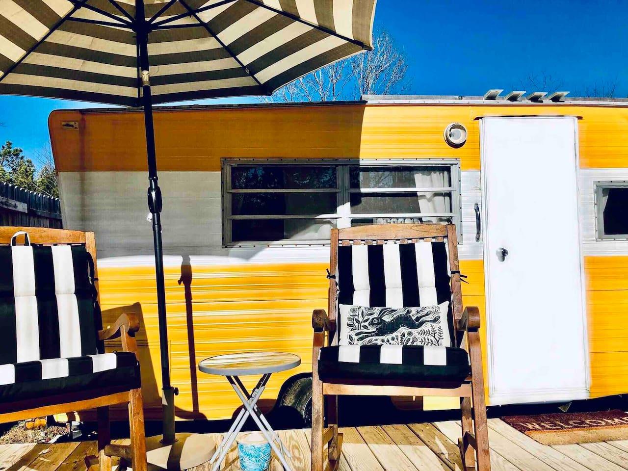 glamping camper asheville