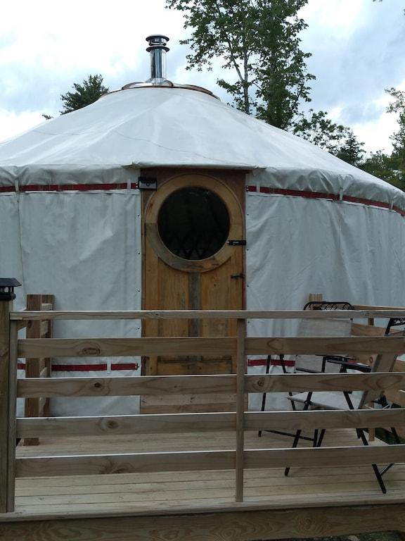 maine wild acres yurt 800 acre preserve